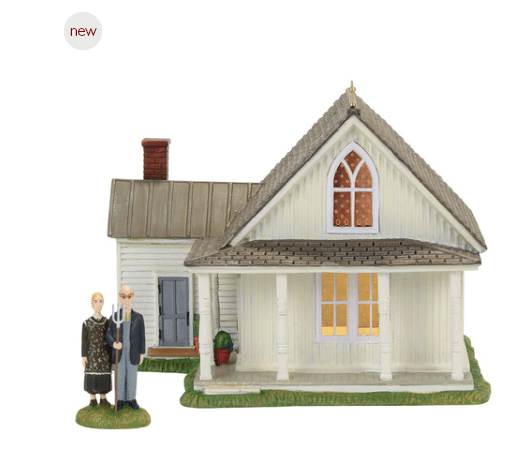 department 56 american gothic set of 2