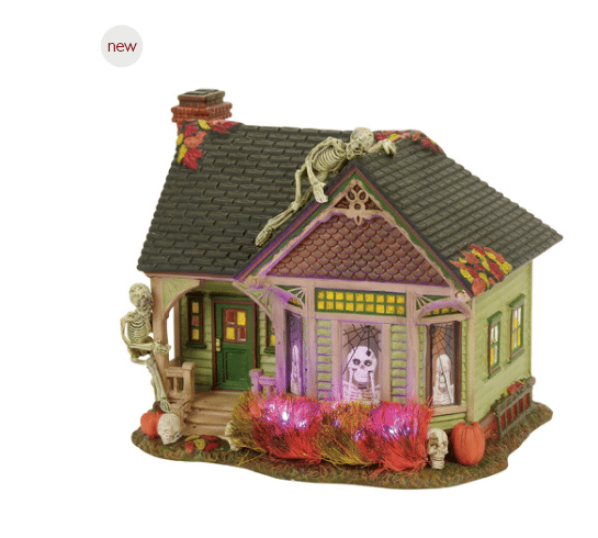 department 56 the skeleton house