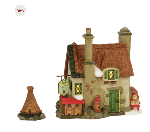 department 56 Dickens village combs honey cottage