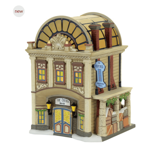 department 56 dickens village the oxford arcade