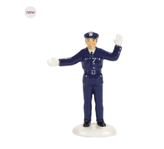 department 56 traffic cop