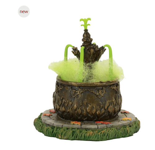 department 56 toad fountain