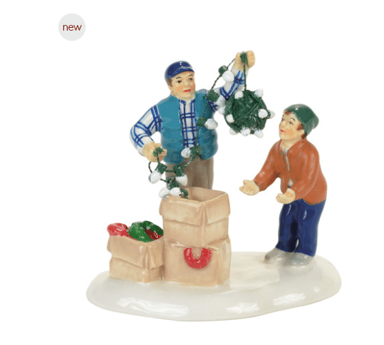 department 56 clark and rusty continue tradition