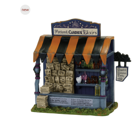 department 56 spells and potions kiosk