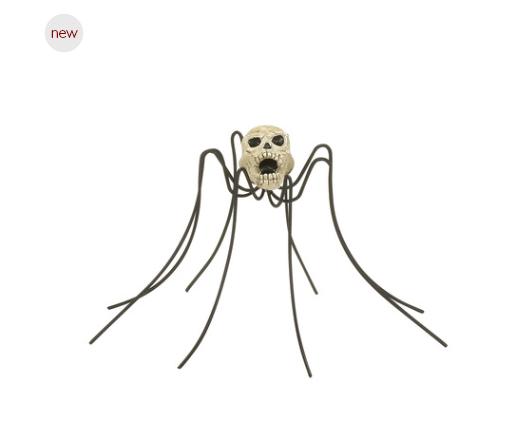 department 56 Skull spider