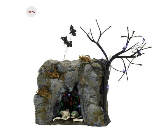 department 56 black bat cave
