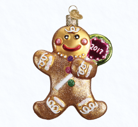 old world christmas 2017 gingerbread cookie