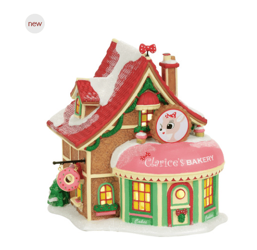 department 56 clarices north pole bakery