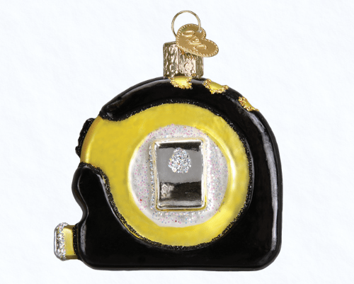 old world christmas tape measure ornament