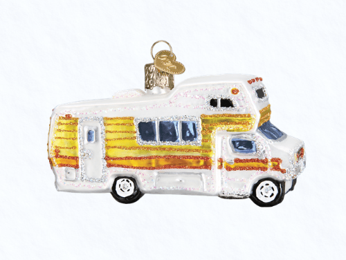 old world christmas classic motorhome ornament