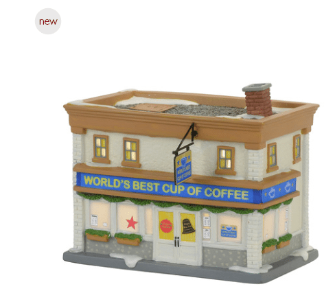 department 56 elf worlds best cup of coffee shop