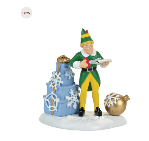 department 56 elf buddy christmas decoration