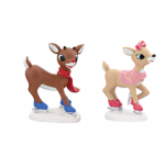 department 56 rudolph and clarice skating