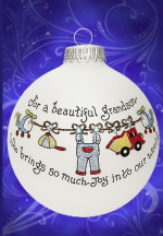 grandsons bring so much joy to your life ornament