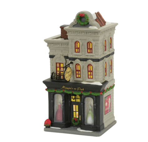 department 56 platinum product christmas in the city maggies on park
