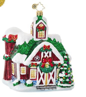 christopher radko farm fiesta ornament
