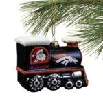denver broncos nfl train ornament