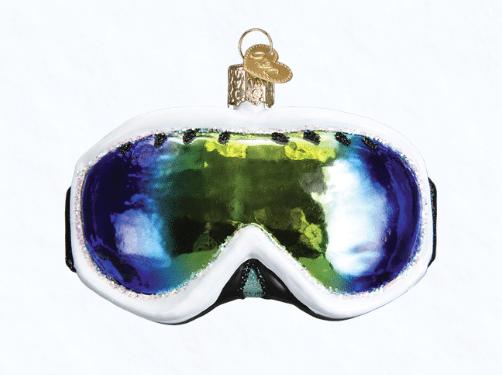 old world christmas ski goggles ornament