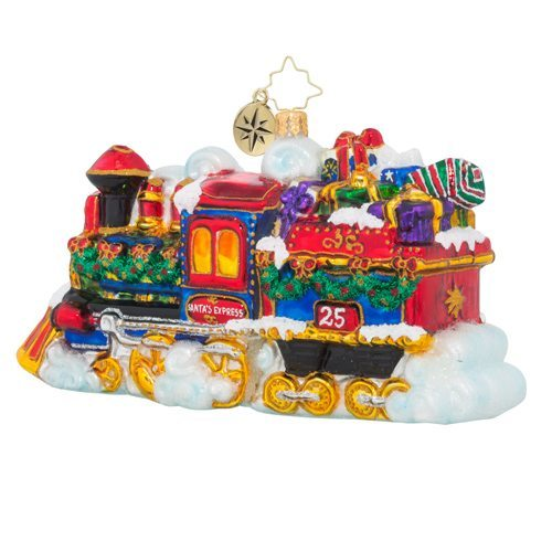 christopher radko midnight express train ornament