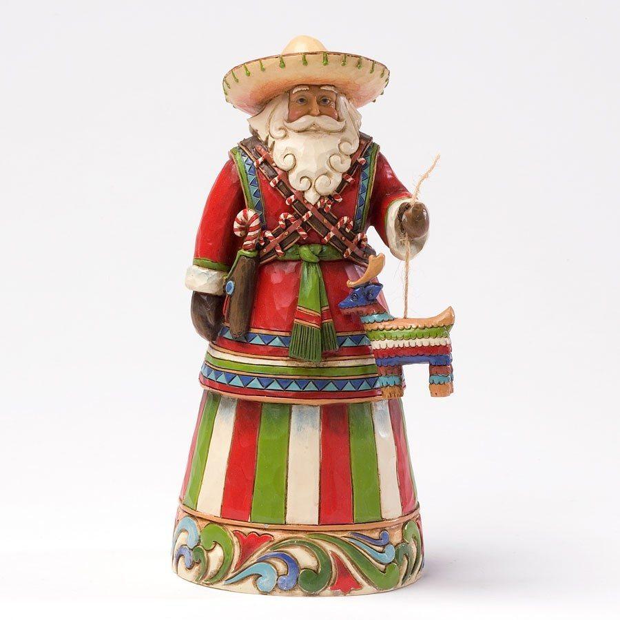 jim shore feliz navidad mexican santa figurine