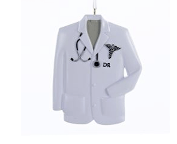 doctors coat ornament