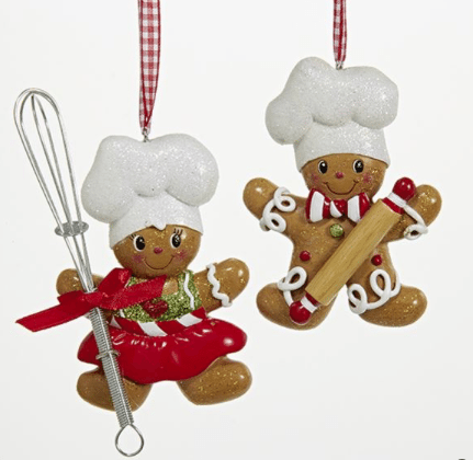boy or girl gingerbread house ornaments
