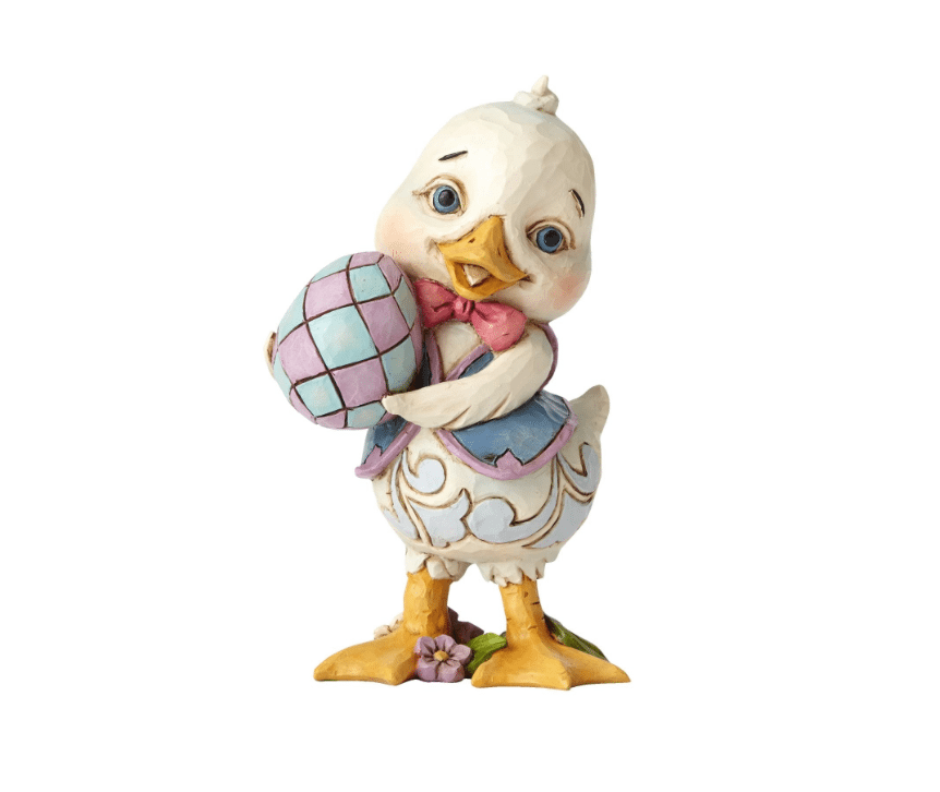 jim shore which came first? pint sized duck figurine