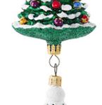 christopher radko a star with fir ornament