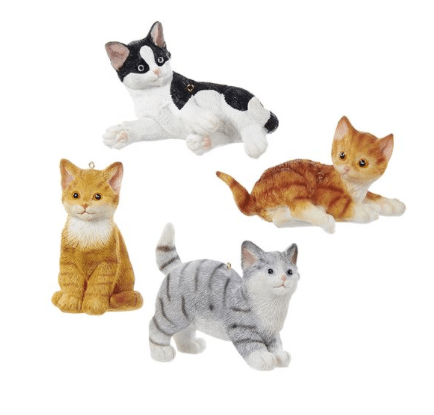 Christmas Ornaments, Dogs & Cats - Cat Ornaments - Christmas Store