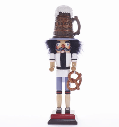 18 Inch beer stein nutcracker