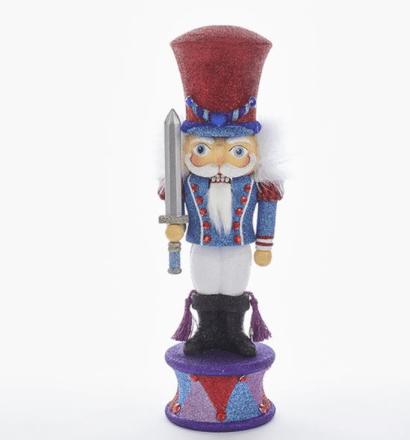 15 inch prince with sword nutcracker