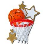 basketball star ornament