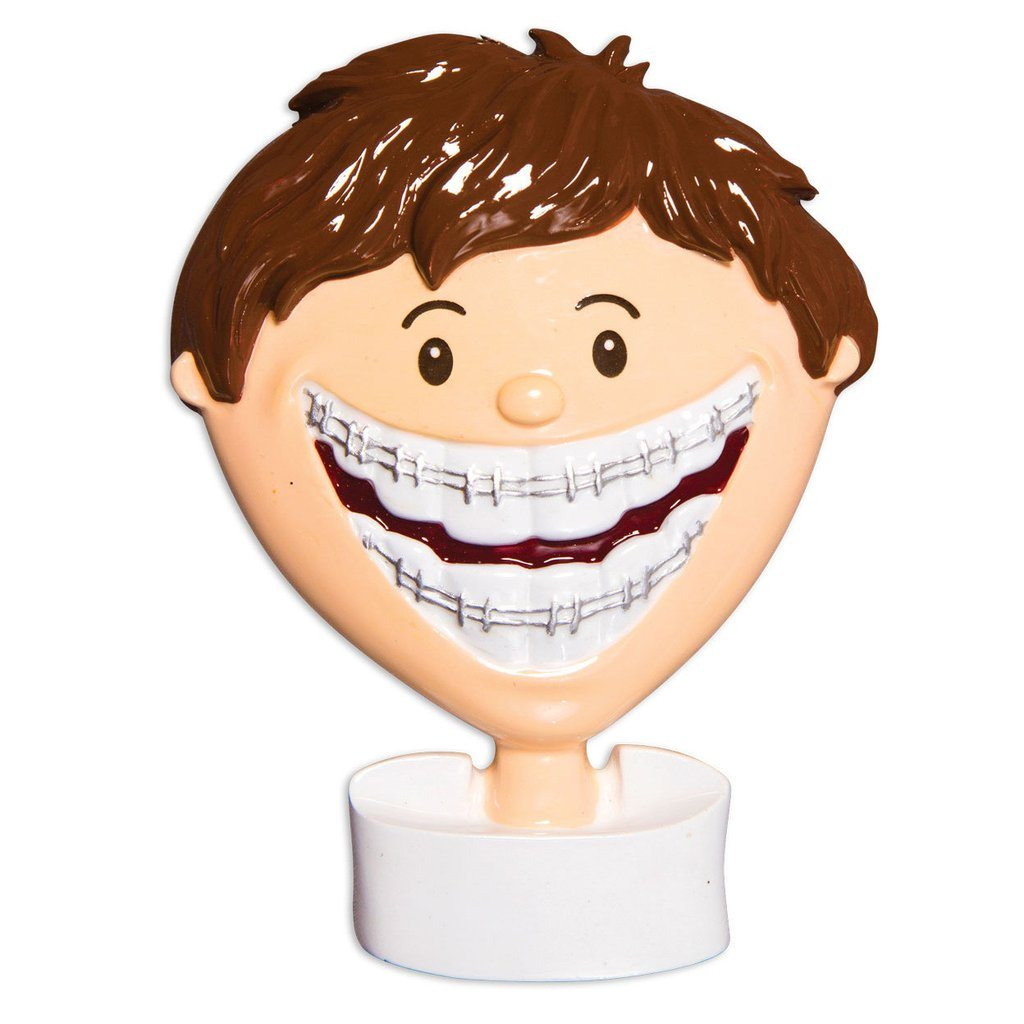 brace facy boy ornament