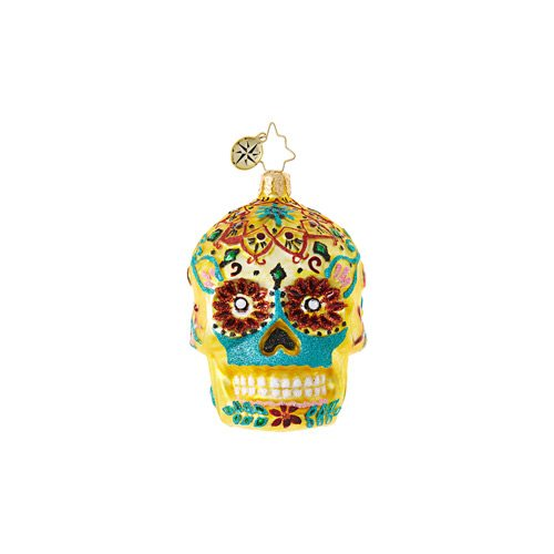 christopher radko calavera de oro little gem ornament