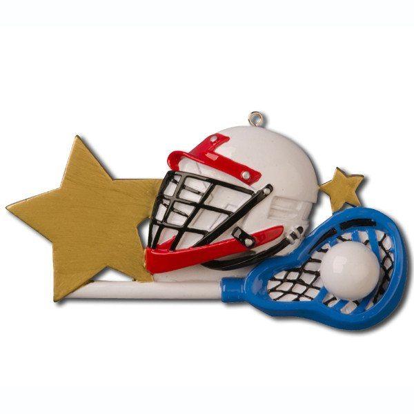 lacrosse helmet ornament