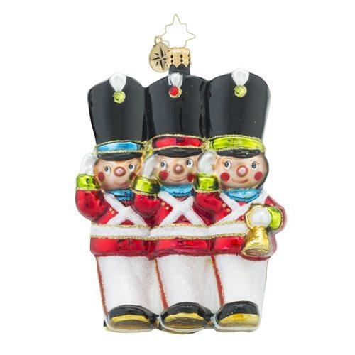christopher radko merry marchers little gem ornament