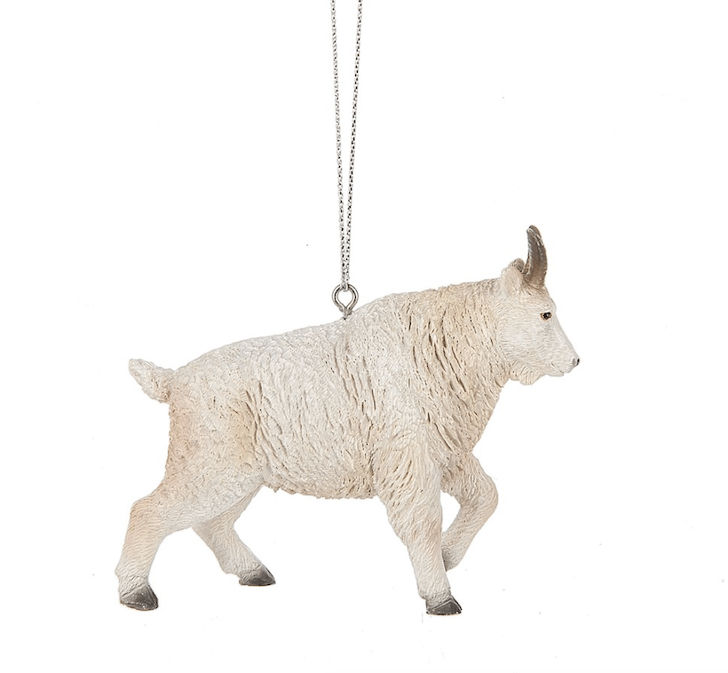 homechristmas ornamentsanimalsmountain goat ornament animals