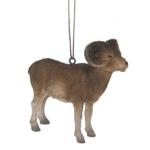 big horn sheep ornament