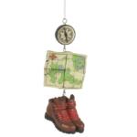 hiking dangle ornament
