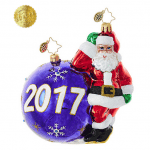 christopher radko having a ball 2017 ornament