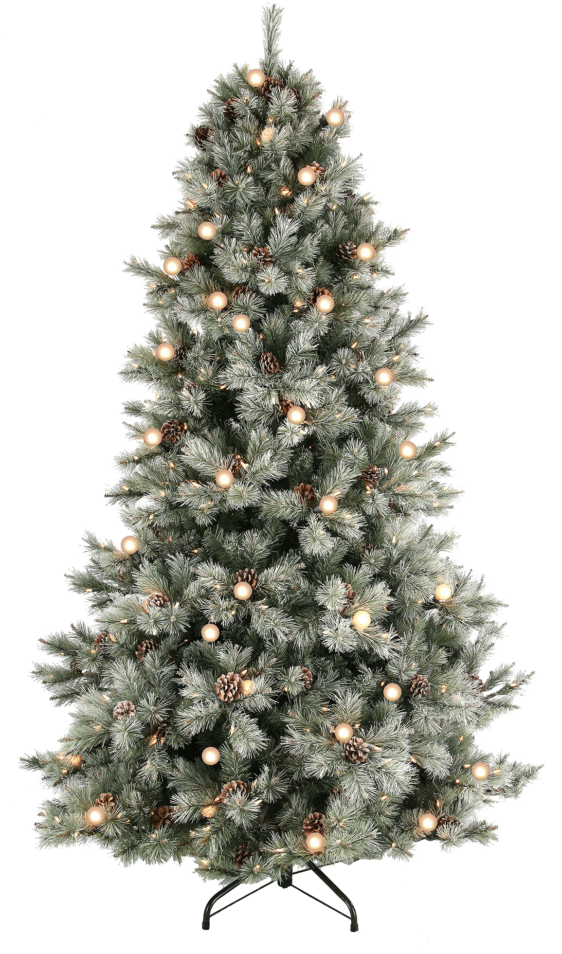 frosted jade mountain tree - Disney Princess Outdoor Christmas Decorations