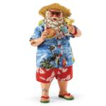 4051136 Possible dreams santa in paradise figurine