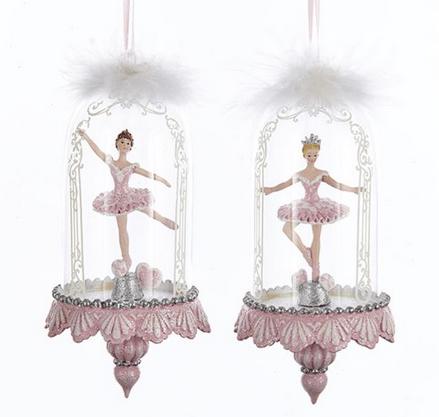 Ballarina In Glass Dome For Sale