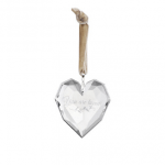 odm031 crystal you are loved heart ornament