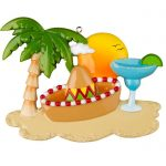 ogg589 cancun mexico travel vacation ornament