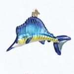 ow12226 old world christmas sailfish ornament
