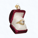 ow32176 old world christmas ring in box ornament