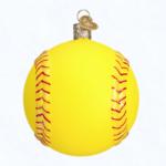 ow44090 old world christmas softball ornament