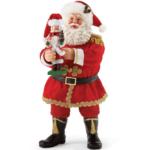 s2013 go nuts santa with nutcracker figurine