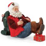 s2026 happy camper santa figurine